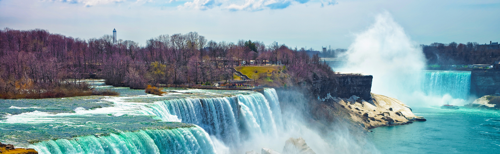 $315 to book your trip NOW to Niagara Falls!