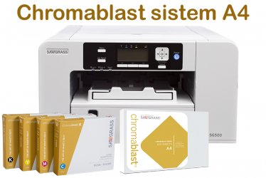 PRNT500E414100 A4 sistem za dekoracijo tekstila SG500