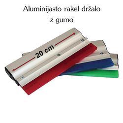 alurakel20cm Rakel - držalo iz aluminija dolžine 20 cm