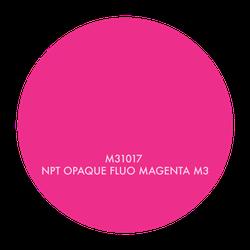 M31017 NPT OPAQUE FLUO MAGENTA M3, 1 GALLON