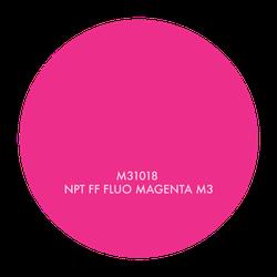 M31018 NPT FF FLUO MAGENTA M3, 1 GALLON
