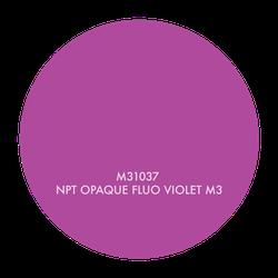 M31037 NPT OPAQUE FLUO VIOLET M3, 1 GALLON