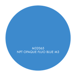 M32065 NPT OPAQUE FLUO BLUE M3, 1 GALLON