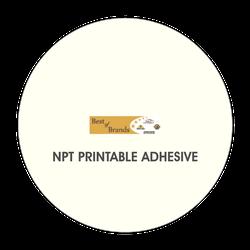 BB0980 NPT Printable Adhesive, 1 GALLON