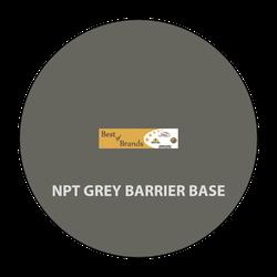 BL0966 NPT Grey Barrier Base, 1 GALLON