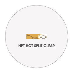 BB0934 NPT Hot Split Clear, 1 GALLON