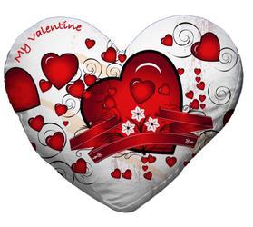 32RHCC42-HEART33X28 Blazina s prevleko za sublimacijo v obliki srca