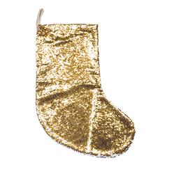 SDWLP Sequin božična nogavica (zlata/srebrna)