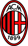 Logo for AC Milan