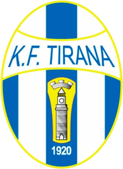 Logo for KF Tirana