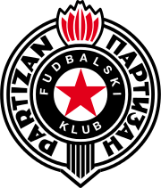 Logo for Partizan Beograd