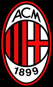 Logo for AC Milan