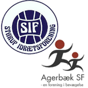 Agerbæk SF/Starup IF logo