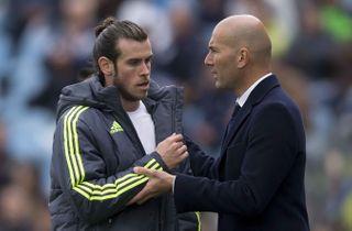 Zidane: Bale foretrak ikke at spille City-brag