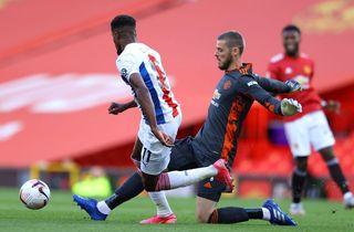Uniteds forsvar sejlede da Palace vandt