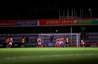 Newport-keepers scoring slog verdensrekord