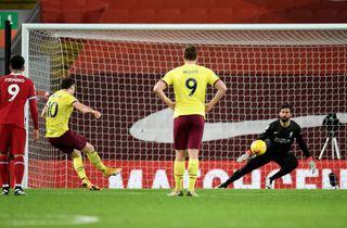 Burnley vandt og forværrede Liverpools stime