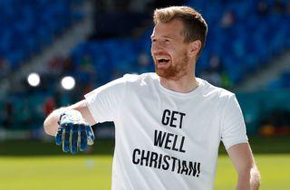 Finlands Eriksen-trøjer var spillernes ide