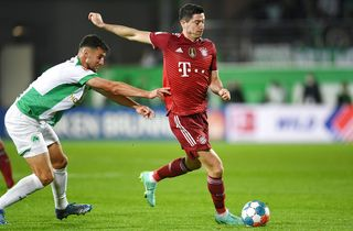 Lewandowski missede rekord i Bayern-sejr