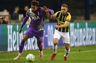 Vitesse og danskerne nedlagde Tottenham