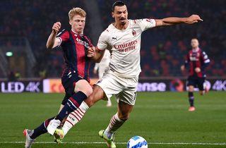 Zlatan med mål i begge ender i Milan-drama