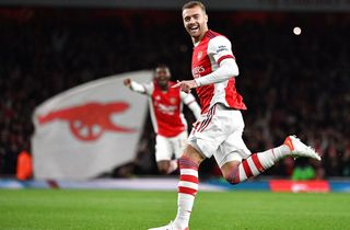 Arsenal videre efter Chambers' lynscoring