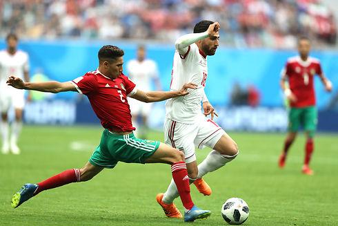 Marokko-selvmål gav Iran sejren i overtiden