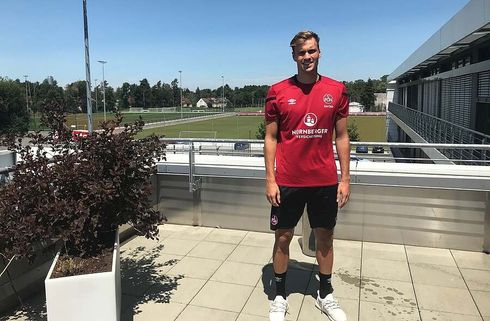 Nürnberg-dansker er tilbage i træning