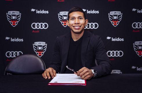 Officielt: Edison Flores er DC United-spiller