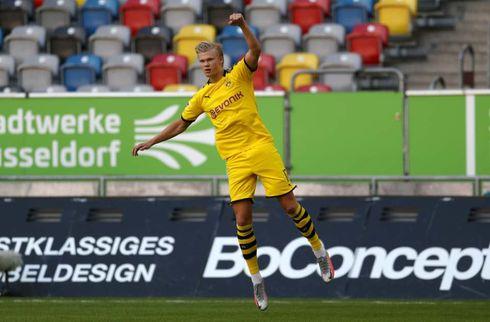 Utrolige Haaland bankede Dortmund til sejr