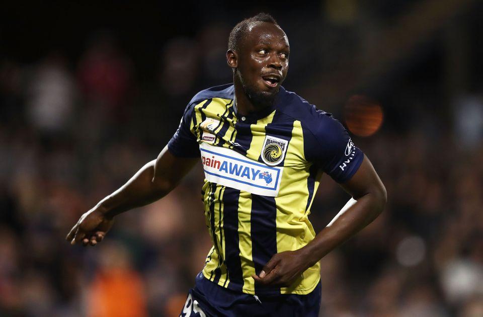 Usain Bolt opgiver professionel fodbold