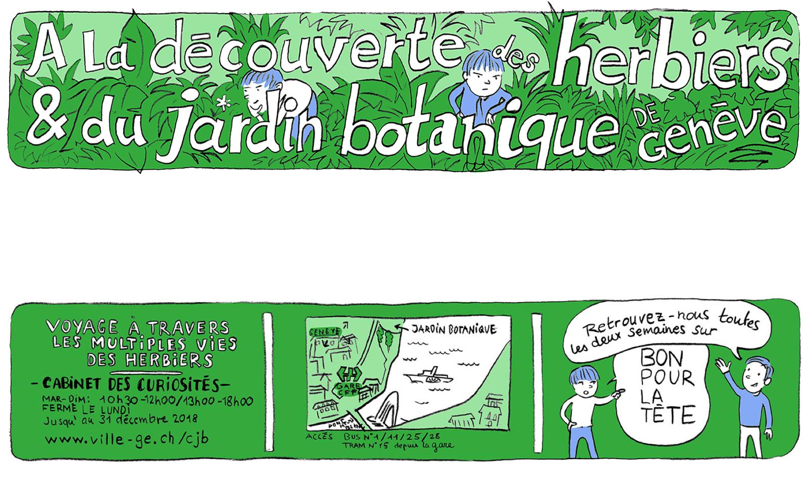 Au jardin botanique bon pour la t te for Bd du jardin botanique