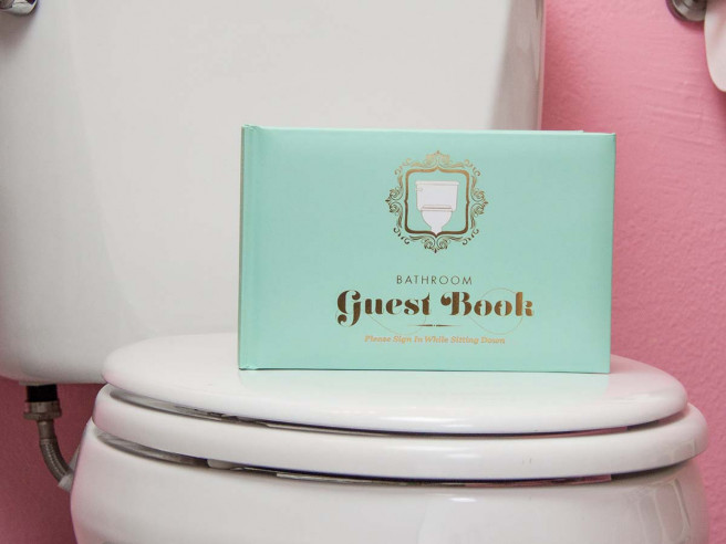 Toilet Guest Book (Hardcover)
