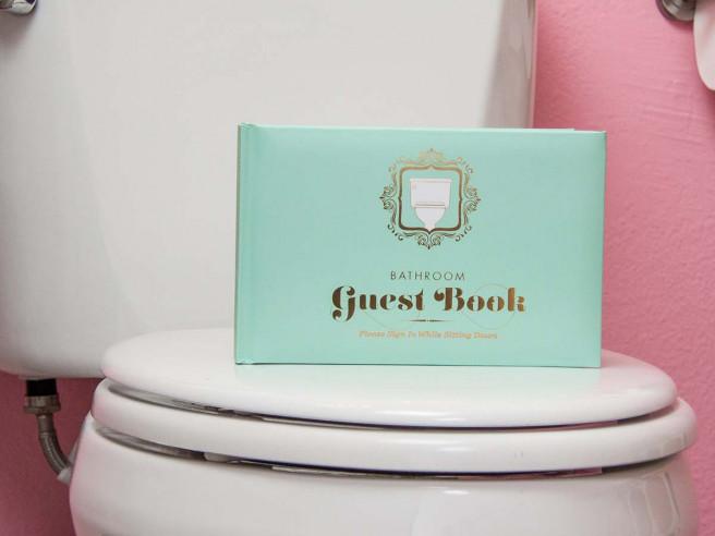 WC Gästebuch (Hardcover)