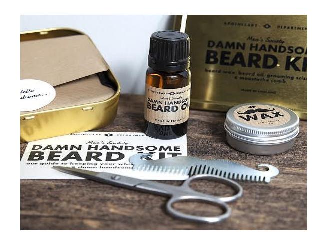 Bartpflege Set 'Damn Handsome'