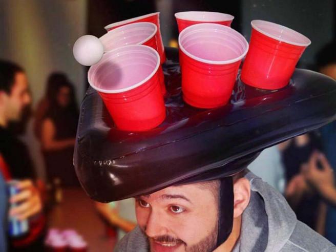 Bier Pong Hut