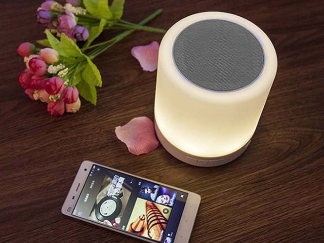 LED Tafellamp Bluetooth Speaker