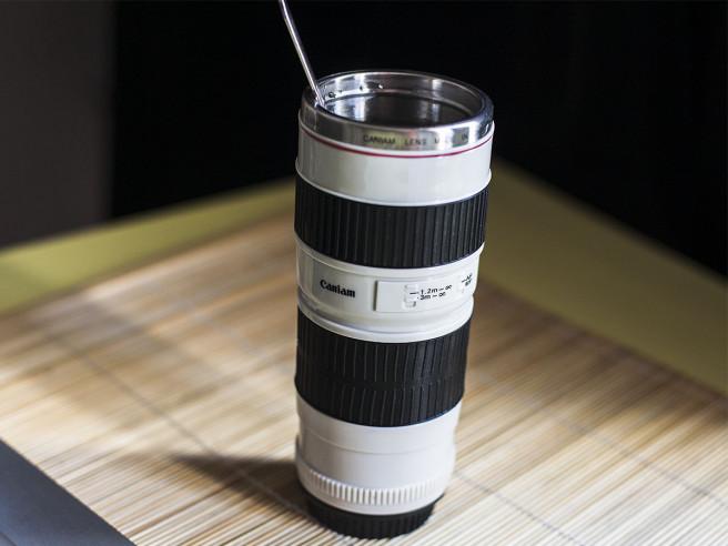 Gobelet Objectif de Caméra