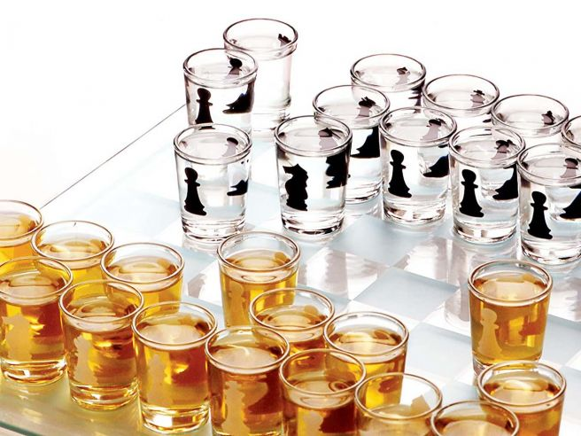 Chess Shot Drinking Game