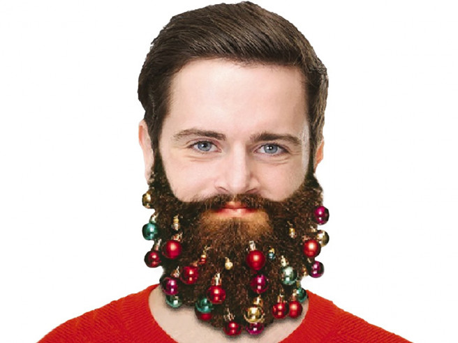 Christmas Beard Decorations