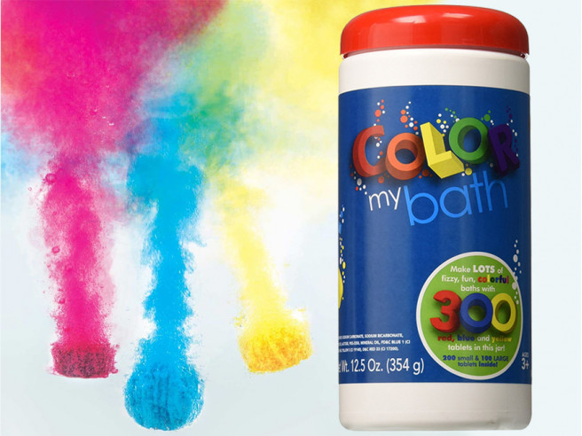 Color My Bath Tablets