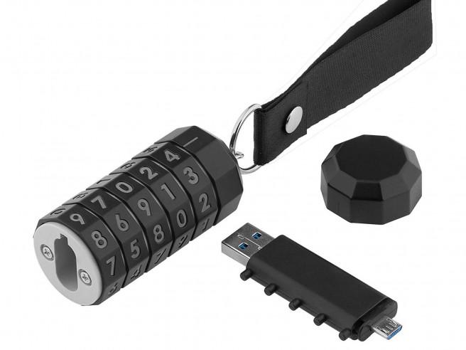 Cryptex USB-Stick mit Zahlenschloss