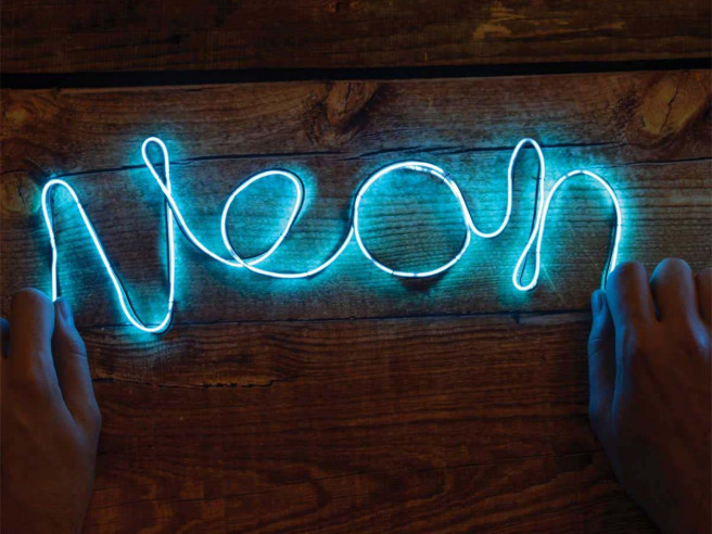 DIY Neon Sign