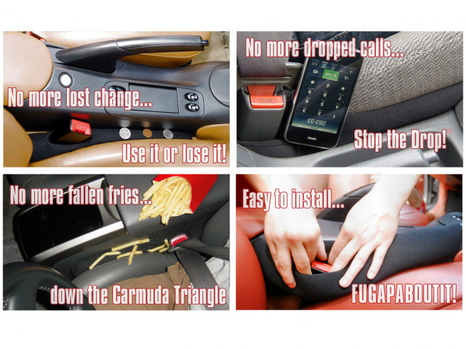 Drop Stop Car Seat Gap Filler