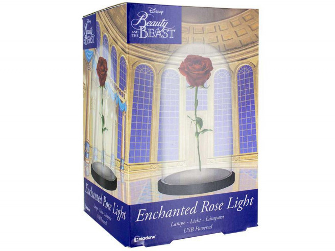 Lampe Rose Enchantée