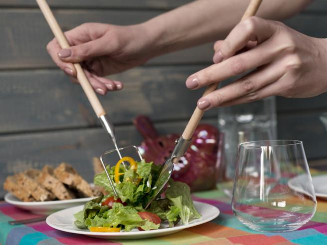 Farmer Salatbesteck im 2er Set