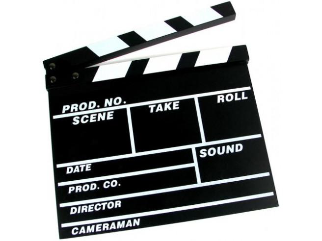 Filmklappe - Regieklappe