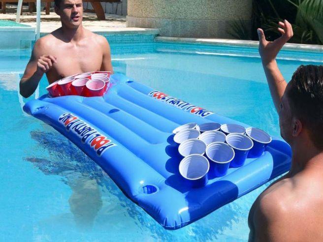 Beer Pong Air Mattress