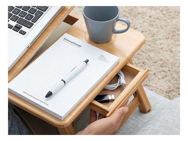 Verstelbare Laptoptafel Bamboe
