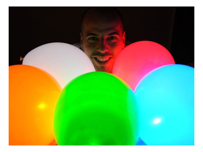 LED Luftballons 15er Set